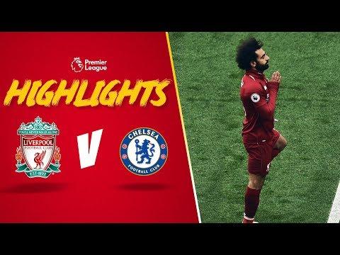 Mo Salah wonder strike!   Liverpool 2-0 Chelsea   Highlights
