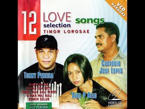 12 Love Song's Collection Timor Lorosae Karaoke