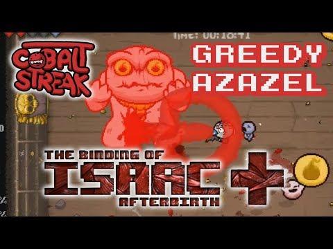 Afterbirth+ Unlocks #09 - Greedy Azazel - Cobalt Streak