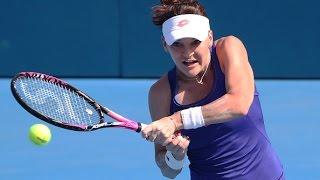 2017 Apia International Sydney Semifinals | Agnieszka Radwanska vs Barbora Strycova | WTA Highlights