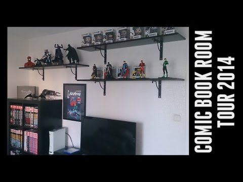 Comic book room tour - December 2014