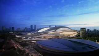 Tokyo New National Stadium © Zaha Hadid Architects