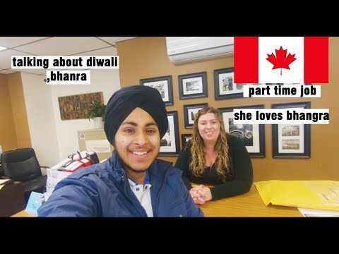 V 7Talk With Canadian And Finding Part Time Job Part 1