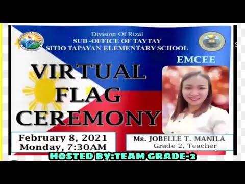 SITIO TAPAYAN ES VIRTUAL FLAG CEREMONY (MONDAY, FEBRUARY 8, 2021)