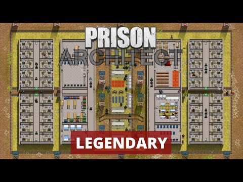 How to Easily Handle Legendary Prisoners - Prison Architect Tutorial  