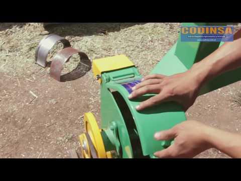 CODINSA Picadora Molino JF 2-D Con gasolina Marshall