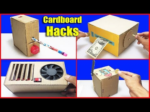 Top 5 Awesome Life Hacks From Cardboard Yaou Should Know DIY at Home