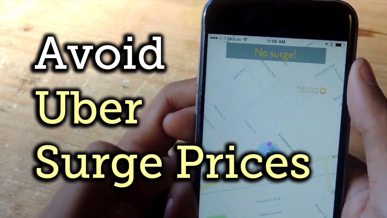 Avoid Getting Ripped Off by Uber's Surge Pricing - iPhone [How-To]