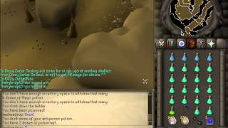 07 Old School Runescape; Ice Bursting Monkey Skeletons