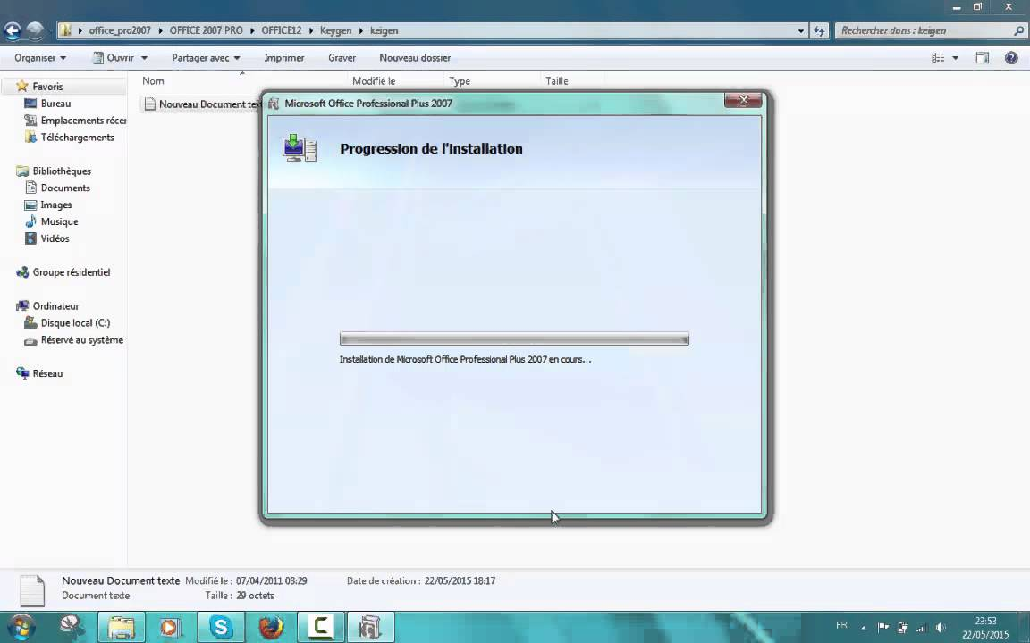 Tuto telecharger office pro 2007 gratuitement complet youtube - Telecharger gratuitement office ...