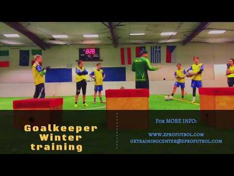 Goalkeeper winter training