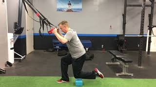 TRX Floating Reverse Lunge - Coach Sean Escaravage