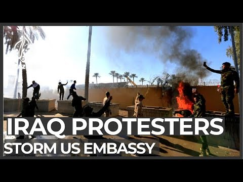 Protesters storm US
