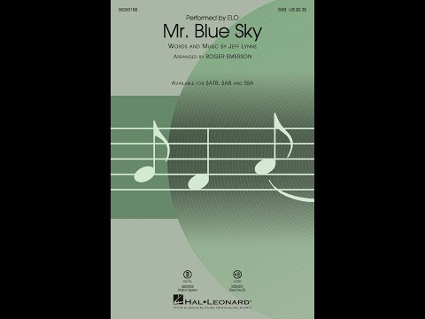 Mr  Blue Sky (SAB) - Arranged By Roger Emerson