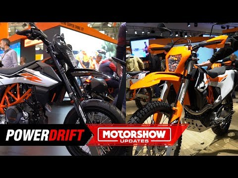 KTM  Enduro R and SMC : Bad boys&#; toys : EICMA  : PowerDrift