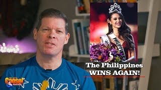 The Philippines Wins Again! Catriona Gray ( blooper end)