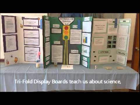the hillel minute tri fold display boards