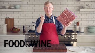 Storing and Pre-Portioning Meat For the Freezer | Mad Genius Tips | Food & Wine