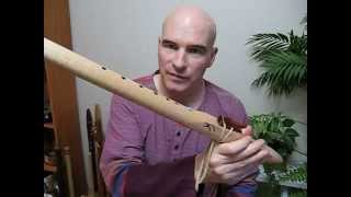 Flu-torial #7: Demonstrating Native American-style Flutes in Gm Pentatonic