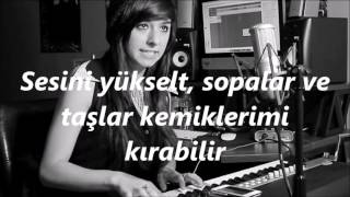 Repeat youtube video David Guetta -Titanium ft.Sia /Christina Grimmie Cover/ ( Türkçe Çeviri )