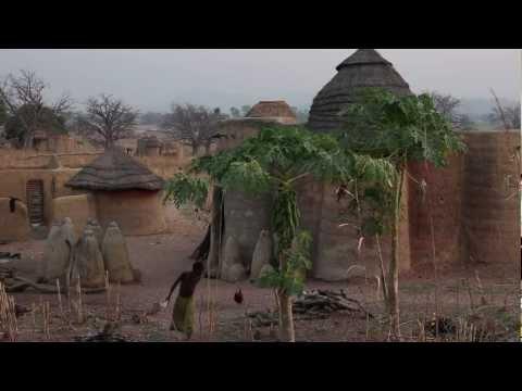 Togo Tamberma et Koutammakou - Ambiance du matin
