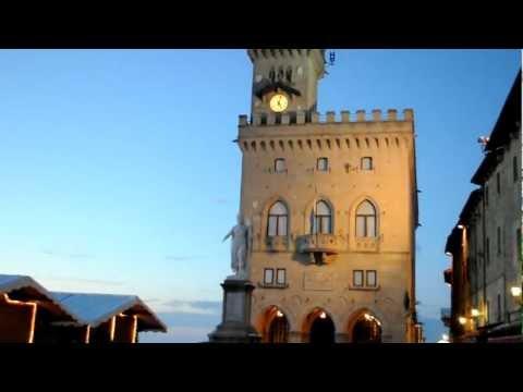 Christmas at beautiful San Marino.