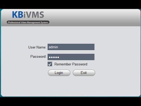 Dowload phần mềm Kbview lite xem camera KBVISION trên máy tính