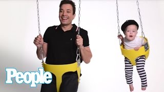 Jimmy Fallon's First Father's Day | People