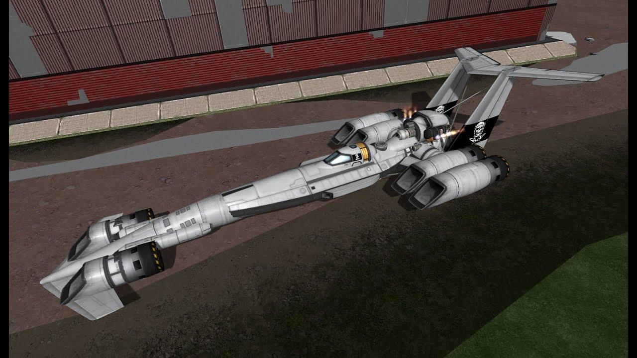 SSTO Hover Hot Rods in Stock Kerbal Space Program YouTube