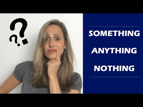 Que significa there is nothing en ingles