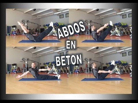 Exercice en méthode Pilates pour des Abdos en beton