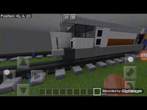 Gambar Kereta Api Minecraft 1 Review 2 Kereta Api Di Minecraft Youtube