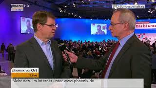 Ralf Stegner zu den Wahlergebnissen der Führungsämter am 08.12.17