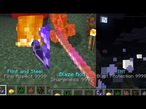How to give SPECIAL ENCHANTMENTS to ANY ITEMS  in Minecraft (PE) NO MOD OR ADDON