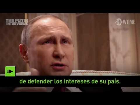 """""""¿Tiene pesadillas por las noches?"""": Putin responde las preguntas de Oliver Stone"""