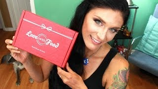 Subscription Review   Love with Food *May 2014* Thumbnail