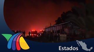 Incendio consume cabañas de pepenadores en Jalisco | Noticias de Jalisco