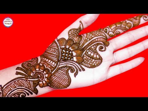 Simple Mehndi Designs   Latest Arabic Henna by Jyoti Sachdeva. thumbnail