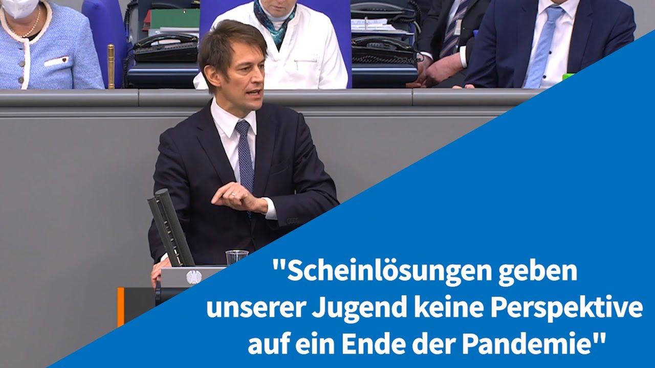 """16.04.2021 """"Scheinlösungen geben der Jugend keine Perspektive auf ein Ende der Pandemie"""""""