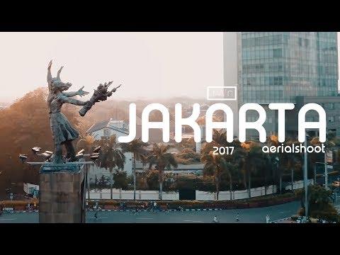 Jakarta Aerial View 4K - DJI Mavic Pro