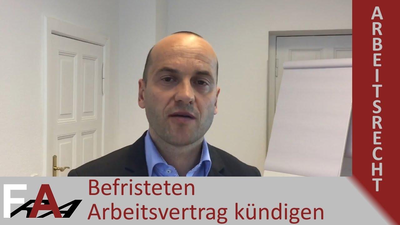 Befristeten Arbeitsvertrag Kündigen Geht Das Fachanwalt Bredereck