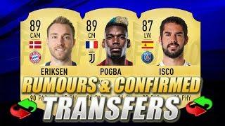 FIFA 20 | SUMMER 2019 CONFIRMED TRANSFERS & RUMOURS | w/ Pogba, Eriksen & Isco