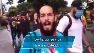 La familia de Lucas Villa advirtió que tiene muerte cerebral pero que guardan esperanzas de que salga vivo de esto