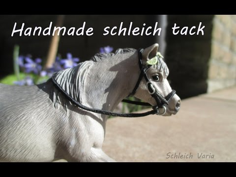 how to make a schleich tack box