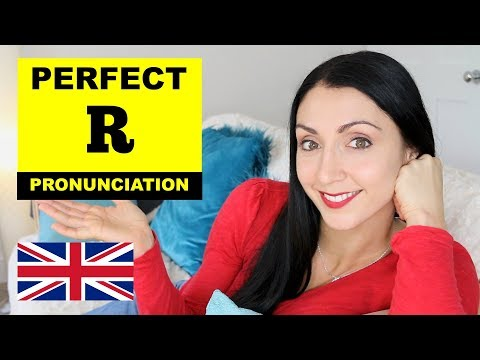 Perfect R Pronunciation | British English Pronunciation Lesson | Medial & Final R Sound