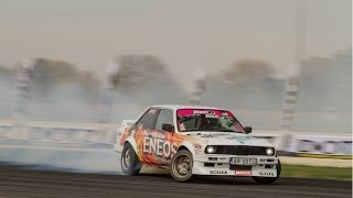 Drift.ro Shorts: Romanian drift girl sliding her E30 V8