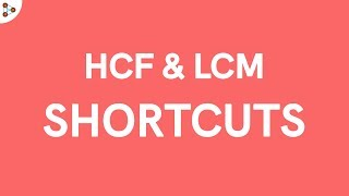 A quick way to find the HCF and LCM of 2 numbers