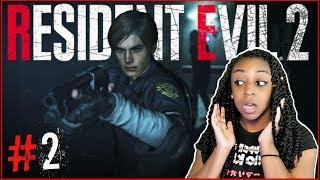 SO MUCH HARDER!!! | Resident Evil 2 Remake Leon 2nd Run Episode 2 Gameplay!!