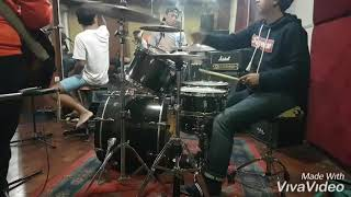 Download MONGKEY BOOTH JAKARTA (DRUM CAM) COVER WITH THE BOR 88
