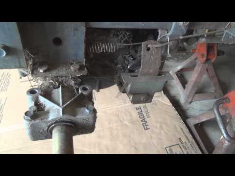Change the oil on a Peerless hydrostatic transaxle, Yard King